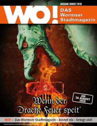 WO!-Magazin Ausgabe August 2018