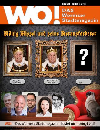 WO!-Magazin Ausgabe Oktober 2018