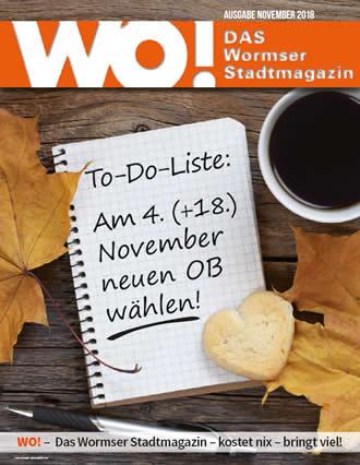 WO!-Magazin Ausgabe November 2018