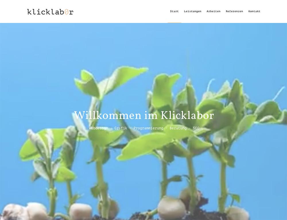 klicklabor webdesign