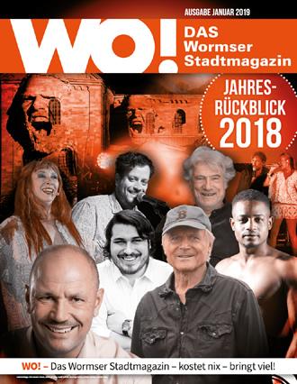 WO!-Magazin Ausgabe Januar 2019