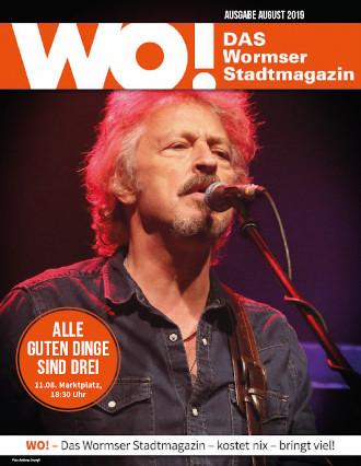 WO!-Magazin Ausgabe August 2019
