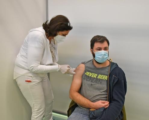 impfzentrum erfolgreich in betrieb gegangen